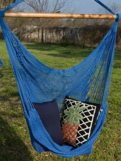 Hängesessel Rada Yucatan dunkelblau