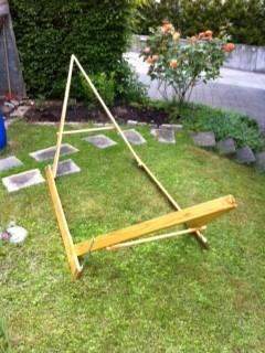 Terra Holzgestell für Doppel-Hängematten
