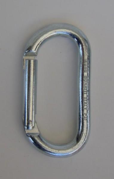 Stahlkarabiner oval